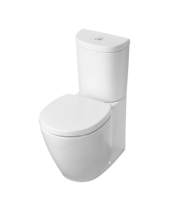 Ideal Standard Concept Space Close Coupled Toilet - Push Button Cistern - Standard Seat IS10103