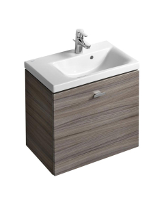 Ideal Standard Concept Space Wall Hung Vanity Unit with LH Basin 600mm Wide - Elm IS10491