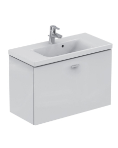 Ideal Standard Concept Space Wall Hung Vanity Unit with Basin 800mm Wide in Gloss White - E0318WG + E134301 IS10572
