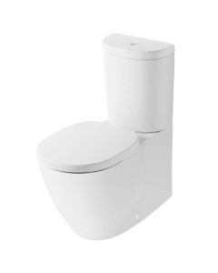 Ideal Standard Concept Back to Wall Toilet with 6/4 Litre Push Button Cistern - Soft Close Seat IS10111