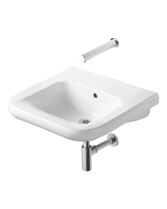 Armitage Shanks Contour 21 Basin with Overflow 550mm Wide - 0 Tap Hole AS10085