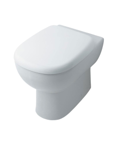 Ideal Standard Jasper Morrison Back to Wall Toilet WC - Soft Close Seat and Cover White IS10066
