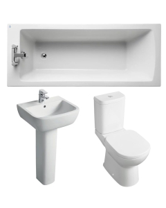 Ideal Standard Tempo Modern Bathroom Suite 2 White IS10013