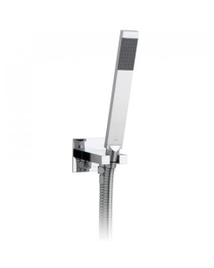 Vado Instinct Single Function Mini Shower Kit With 150Cm Shower Hose And Bracket With Integrated Outlet - Ins-Sfmkwo-C/P VADO1258