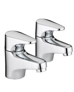 Bristan Jute Bath Taps Chrome - JU 3/4 C JU 3/4 C
