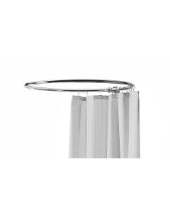 Nuie Chrome Traditional Shower Ring - LA386 LA386