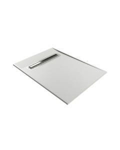 Impey Aqua-Dec Linear 2 Wet Room Former 1000mm x 1000mm With Linear Waste - AD2L1010 IM1027