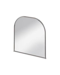 Burlington Traditional Curved Bathroom Mirror, 700mm High x 700mm Wide, Chrome BU10804