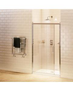 Burlington Traditional Sliding Shower Door, 1400mm Wide, 8mm Glass BU10740