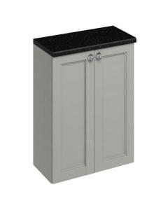 Burlington 60 Fitted 2-Door Base Cabinet Unit, 600mm Wide, Olive BU10446