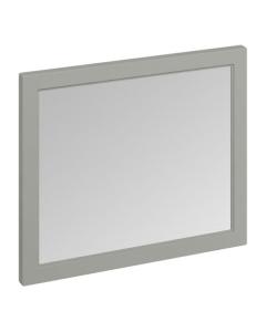 Burlington 90 Fitted Framed Bathroom Mirror, 750mm High x 900mm Wide, Olive BU10440