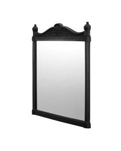 Burlington Traditional Framed Bathroom Mirror, 750mm High x 553mm Wide, Black BU10808