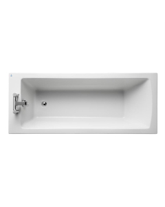 Ideal Standard Tempo Arc Single Ended Rectangular Water Saving Bath 1700mm x 700mm 0 Tap Hole - E256501 IS10301