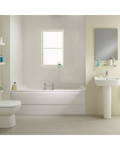 Ideal Standard Tempo Cube Idealform Plus Double Ended Rectangular Bath 1700mm X 750mm 0 Tap hole - E258901 - E258901 IS10349