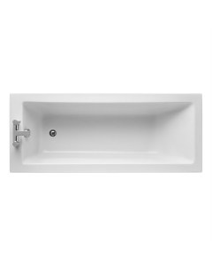 Ideal Standard Tempo Cube Single Ended Rectangular Bath 1700mm X 700mm 0 Tap Hole - E258001 IS10307