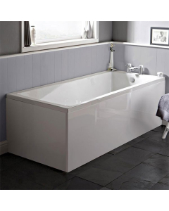 Ideal Standard Tempo Cube Single Ended Rectangular Water Saving Bath 1700mm X 700mm 0 Tap Hole - E258101 - E258101 IS10364
