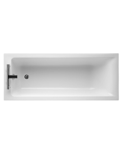 Ideal Standard Concept Single Ended Rectangular Bath 1700mm x 750mm 2 Tap Holes White - E729501 - E729501 IS10323