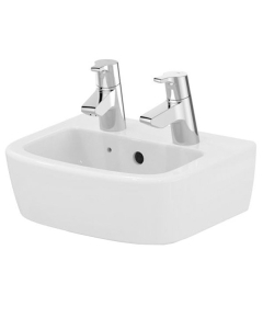 Ideal Standard Tempo Handrinse Washbasin 350mm Wide 2 Tap Holes - T059601 IS10126