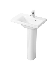 Ideal Standard Concept Space Left Hand Basin and Pedestal 600mm x 380mm 1 Tap Hole IS10273