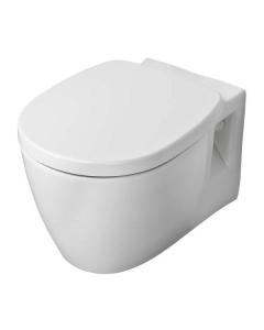 Ideal Standard Concept Freedom Raised Height Wall Hung Toilet 545mm Projection - Soft Close Seat IS10085