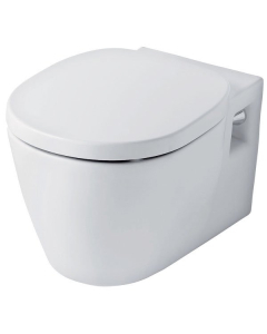 Ideal Standard Concept Wall Hung Toilet with Soft Close Seat 545mm Projection White IS10071