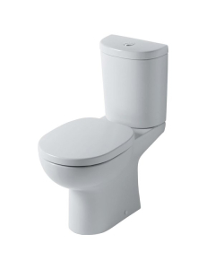 Ideal Standard Studio Close Coupled Toilet with 6/4 Litre Push Button Cistern - Standard Seat IS10082