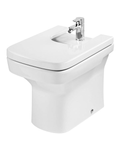 Roca Dama-N Compact Back to Wall Bidet, 520mm Projection, 1 Tap Hole RO10082