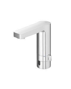 Roca L90 Infra-Red Battery Operated Electronic Basin Mixer Tap with Flow Limiter In Chrome - 5A5301C00 RO10543