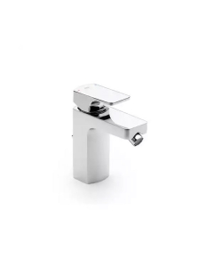 Roca L90 Bidet Mixer Tap with Pop-up Waste In Chrome - 5A6001C00 RO10588