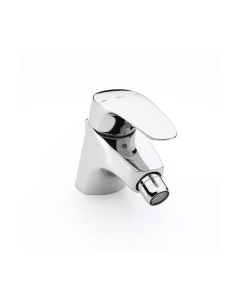 Roca Monodin-N Bidet Mixer Tap with Pop-Up Waste In Chrome - 5A6007C00 RO10575