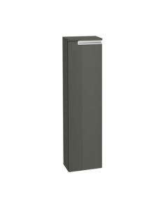 Roca Victoria-N Right Handed Column Unit, 250mm Wide, Textured Grey - 856661153 RO10393