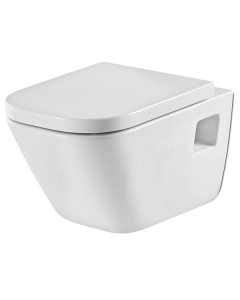 Roca The Gap Wall Hung Toilet, 540mm Projection, Soft Close Seat RO10042