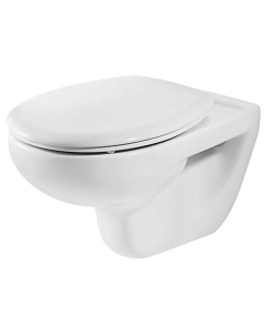 Roca Laura Wall Hung Toilet, 525mm Projection, Soft Close Seat RO10184