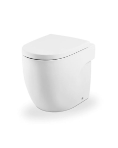 Roca Meridian-N Back to Wall Toilet WC 520mm Projection - Standard Seat RO10147
