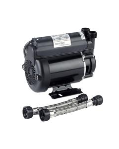 Bristan Single Impeller Shower Booster Pump, 2.0 Bar, Black ST PUMP20SG
