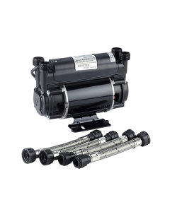 Bristan Twin Impeller Shower Booster Pump, 2.0 Bar, Black ST PUMP20TN