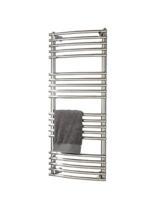 Vogue Melody Heated Towel Rail 1508mm High x 600mm Wide, Central Heating - MD004 MS1508600CP MD004 MS1508600CP