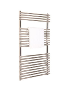 Vogue Stella Heated Towel Rail 1200mm High x 600mm Wide, Electric - MD034 SS1200600PS-E MD034 SS1200600PS-E