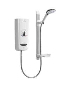 Mira Advance 8.7Kw Electric Shower, White/Chrome 1.1785.001 1.1785.001