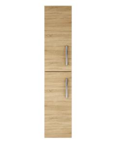 Nuie Athena Natural Oak Contemporary 300mm Tall Unit (2 Door) - MOC662 MOC662