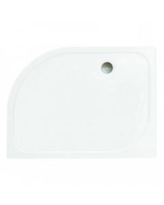 Merlyn MStone Offset Quadrant Tray 1200 x 800mm Right Hand Including 90mm Waste - D128QR D128QR