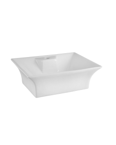 Nuie Vessels White Contemporary Vessel - NBV005 NBV005