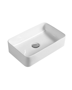 Nuie Vessels White Contemporary Vessel - NBV179 NBV179