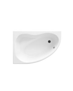 Nuie Pilot White Contemporary Corner Bath Pack Left Hand - PCB001 PCB001