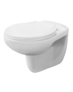 Nuie Melbourne White Contemporary Wall Hung Pan - NCS140 NCS140