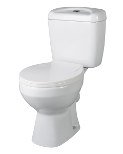 Nuie Melbourne White Contemporary Close Coupled Pan & Cistern - NCS150 NCS150
