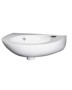 Nuie Wall Hung Basins White Contemporary 350mm Basin - NCU932 NCU932