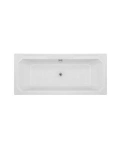 Nuie Ascott White Traditional Art Deco Bath (1800x800) - NLB114 NLB114