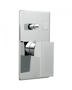 Vado Notion Concealed Single Lever Wall Mounted Manual Shower Valve With Diverter - Not-147A-C/P VADO1453