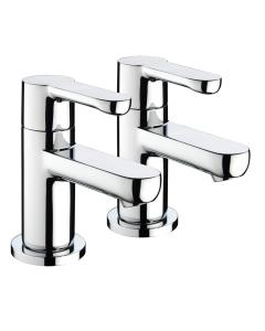 Bristan Nero Bath Taps Chrome - NR 3/4 C NR 3/4 C